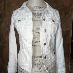 White Denim Jacket